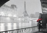 Ravensburger puzzle Paris sous la pluie-Avant