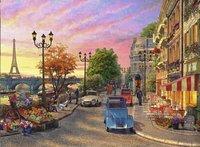 Ravensburger puzzel Avondsfeer in Parijs-Vooraanzicht