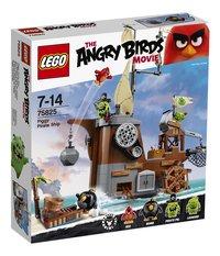 LEGO Angry Birds 75825 Le bateau pirate du cochon