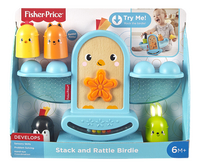 Fisher-Price stapelblokken/evenwichtsspel Stack and Rattle Birdie-Vooraanzicht