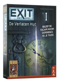 Exit het spel: De verlaten hut-Vooraanzicht