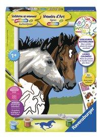 Ravensburger Numéro d'art Couple de chevaux