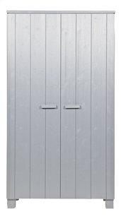 Kleerkast Dennis met 2 deuren betongrijs