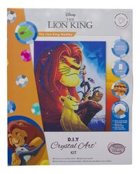 Craft Buddy Crystal Art Kit Disney - The Lion King Medley-Avant