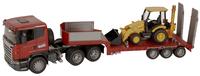 Bruder camion Scania avec pelleteuse JCB-Image 2