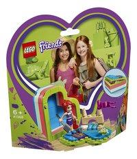 LEGO Friends 41388 Mia's hartvormige zomerdoos-Linkerzijde