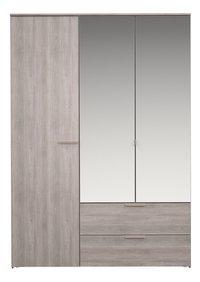 Tempo armoire 3 portes et 2 tiroirs