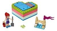LEGO Friends 41388 Mia's hartvormige zomerdoos-Vooraanzicht