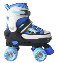Optimum patins à roulettes bleu