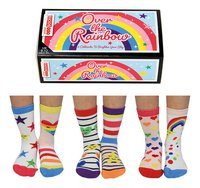 United Odd Socks Over the Rainbow 6 sokken maat 27-30-commercieel beeld