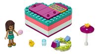 LEGO Friends 41384 Andrea's hartvormige zomerdoos-Vooraanzicht