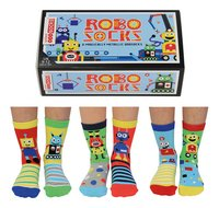 United Odd Socks Robo Socks 6 sokken maat 27-30-commercieel beeld