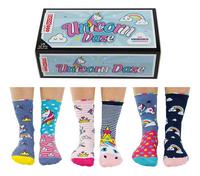 United Odd Socks Unicorn Daze 6 sokken maat 30-38-commercieel beeld