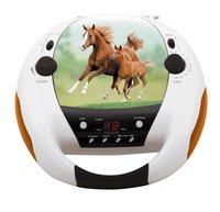 bigben draagbare radio/cd-speler CD52 Paarden 2-Vooraanzicht