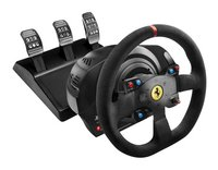 Thrustmaster Volant de course avec pédales PS4 T300 Ferrari Integral Racing Wheel Alcantara Edition