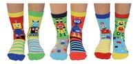 United Odd Socks Robo Socks 6 sokken maat 27-30-Vooraanzicht