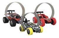 Trixx 360° acrobatische auto's Stuntcars rood/wit - 3 stuks-Vooraanzicht