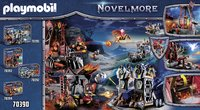 PLAYMOBIL Novelmore 70390 Burnham Raiders lavamijn-Achteraanzicht