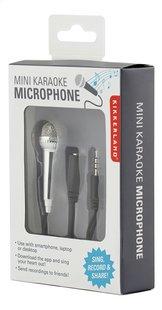 Kikkerland Mini Karaoke Microfoon-Rechterzijde
