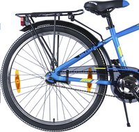 Citybike Blade 24/ bleu avec porte-bagages-Base