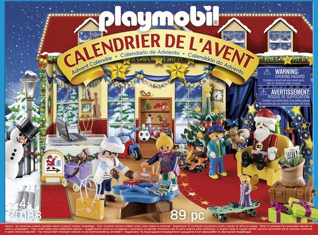 Calendrier L Avent Playmobil.Playmobil 70188 Calendrier De L Avent Boutique De Jouets