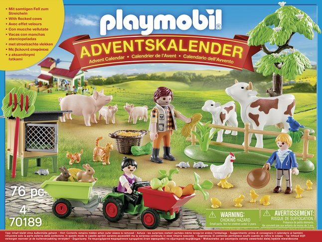 Afbeelding van PLAYMOBIL 70189 Adventskalender De boerderij from DreamLand