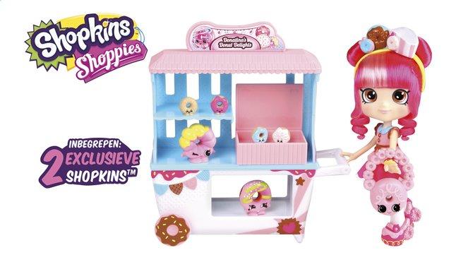 Afbeelding van Shopkins speelset Shoppies Donatina's Donut Delights from DreamLand