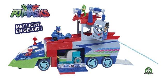 Afbeelding van PJ Masks PJ Seeker Truck + Catboy en z'n voertuig from DreamLand