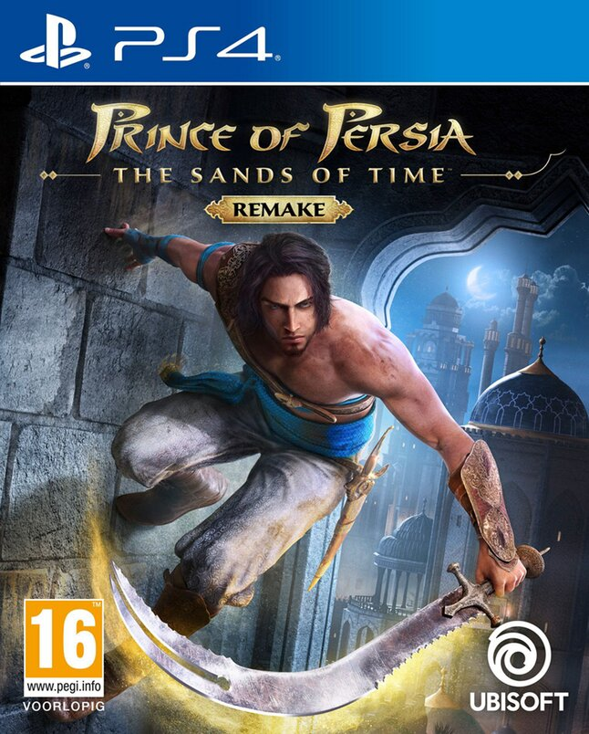 PS4 Prince of Persia The Sands of Time Remake ENG/FR