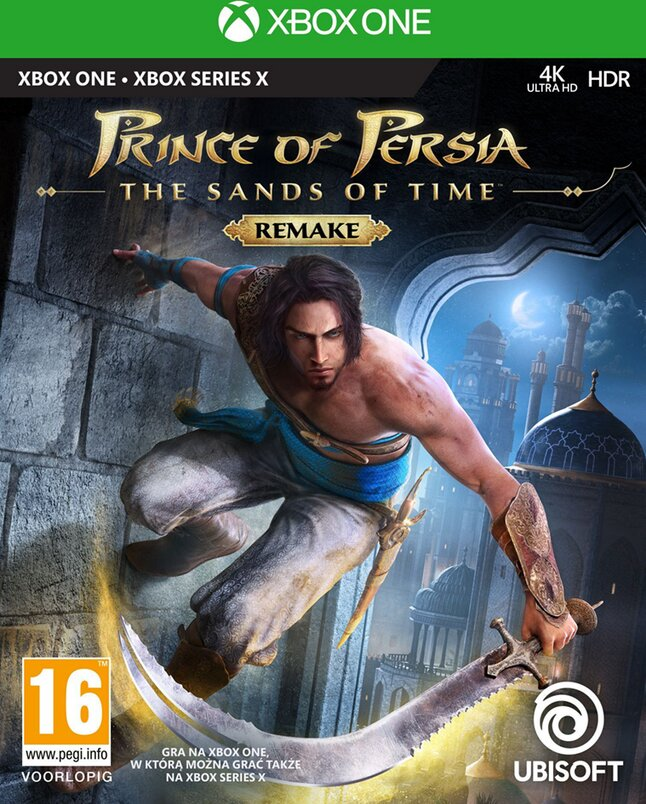 Xbox One Prince of Persia The Sands of Time Remake ENG/FR