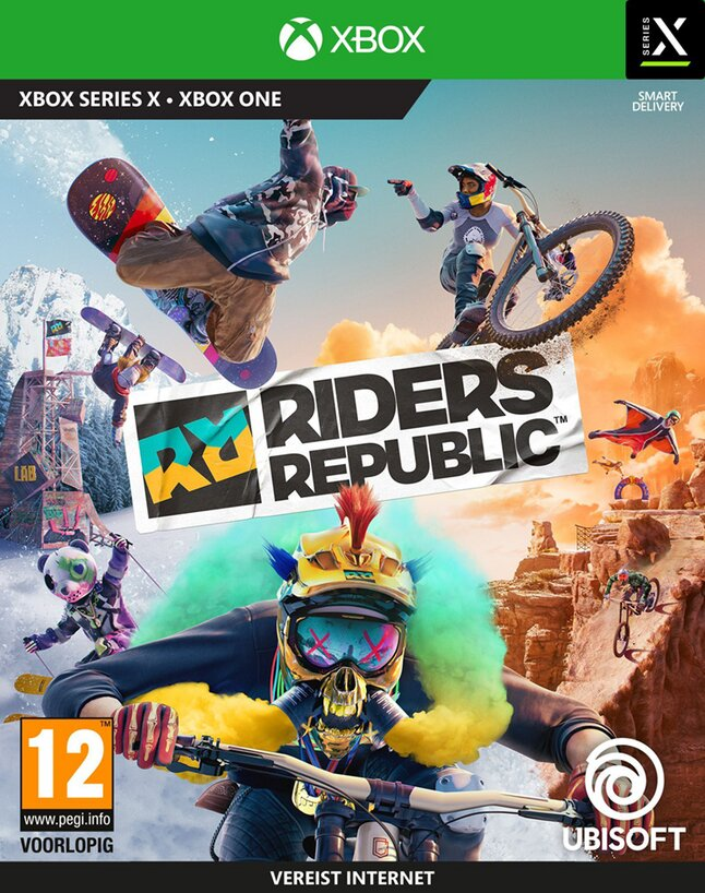 Xbox One Riders Republic ENG/FR