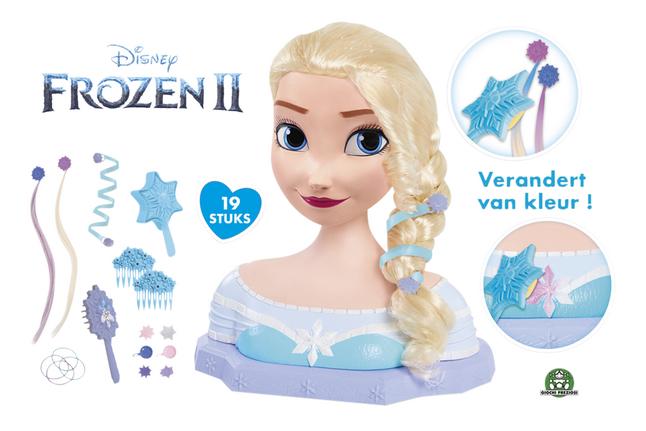 Afbeelding van Kappershoofd Disney Frozen II Elsa from DreamLand