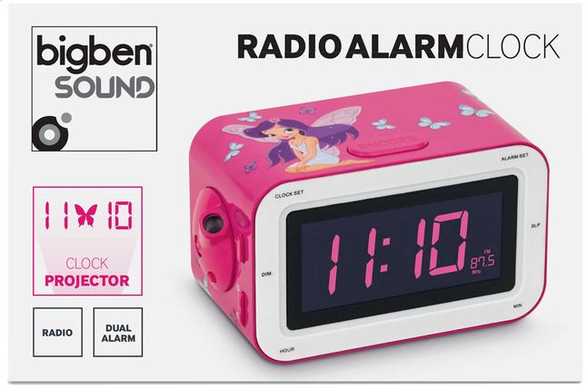 Afbeelding van Bigben wekkerradio RR30 Fairy roze from DreamLand