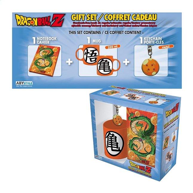 Dragon Ball Z coffret-cadeau avec porte-clés, mug et carnet