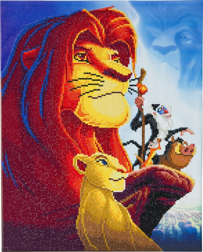Craft Buddy Crystal Art Kit Disney - The Lion King Medley