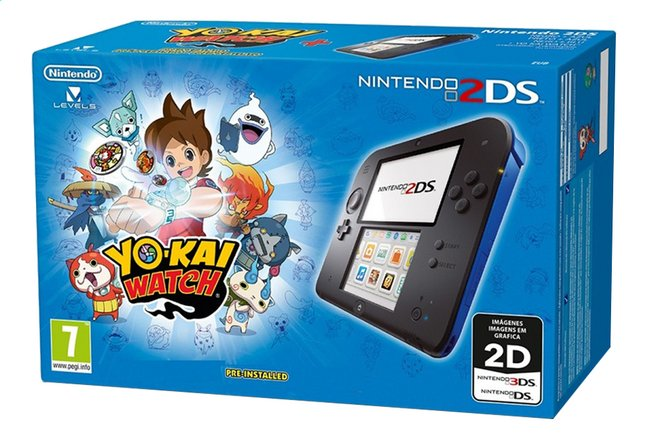 Afbeelding van Nintendo 2DS console + Yo-Kai Watch pre-installed from DreamLand