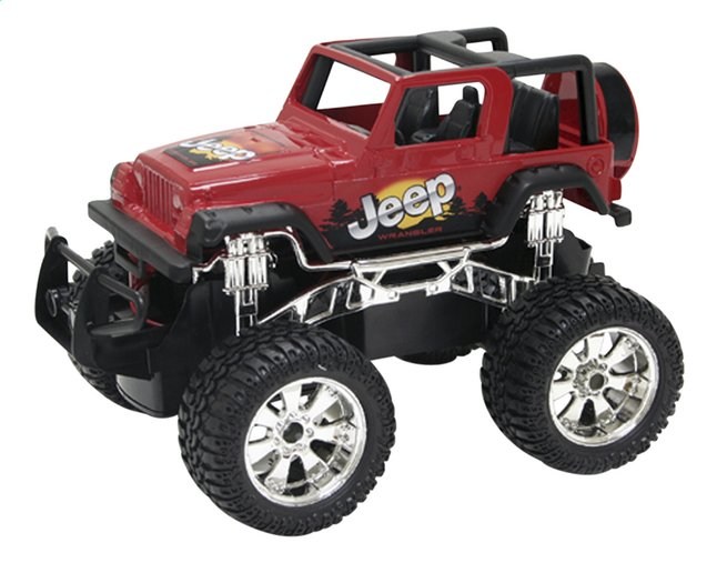 Afbeelding van New Bright jeep RC Jeep Wrangler rood from DreamLand