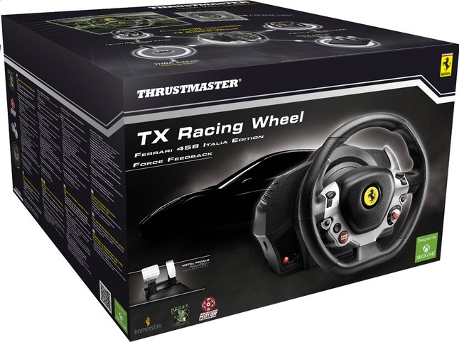 Afbeelding van XBOX One Racing Wheel Ferrari 458 Italia Edition from DreamLand