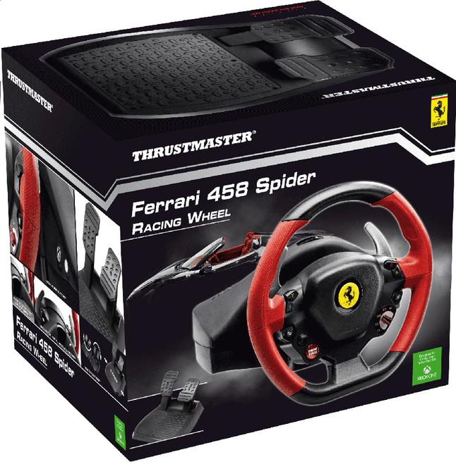 Afbeelding van XBOX One Racing Wheel Ferrari 458 Spider met pedalen from DreamLand
