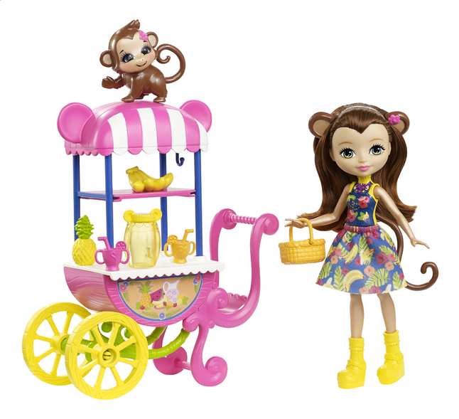 Afbeelding van Enchantimals speelset Fruit cart from DreamLand
