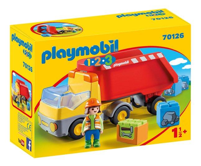 PLAYMOBIL 1.2.3 70126 Camion benne