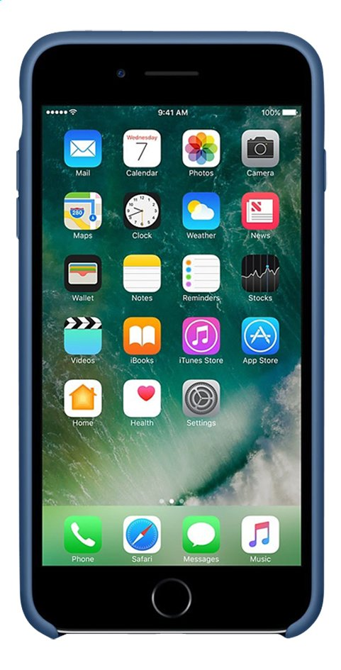 Afbeelding van Apple silicone backcover voor iPhone 7 Plus Ocean Blue from DreamLand