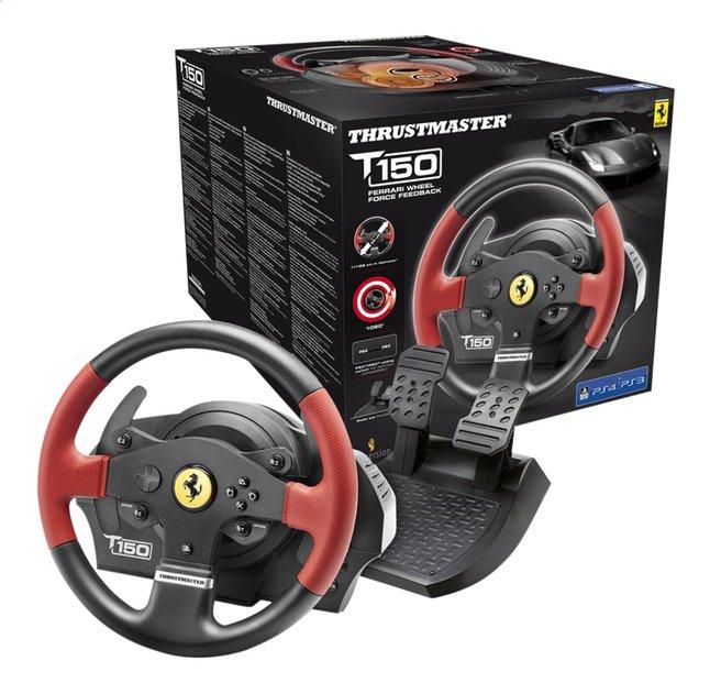 Afbeelding van Thrustmaster stuurwiel met pedalen PS4 T150 Ferrari Wheel force feedback from DreamLand