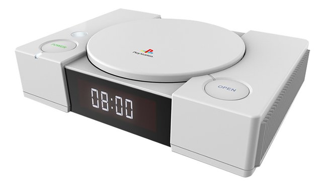 bigben radio-réveil avec projection PS1