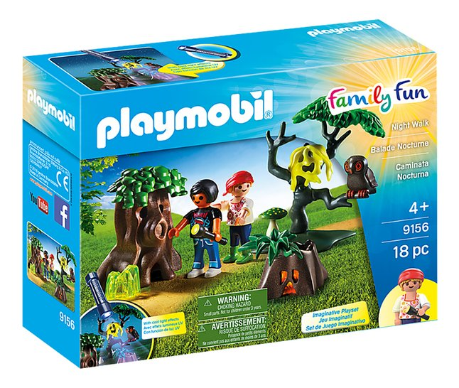 PLAYMOBIL Family Fun 9156 Balade nocturne