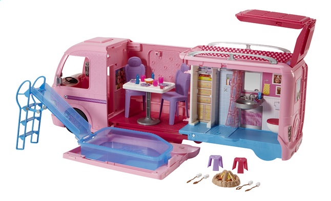 Barbie speelset Camping Car | DreamLand