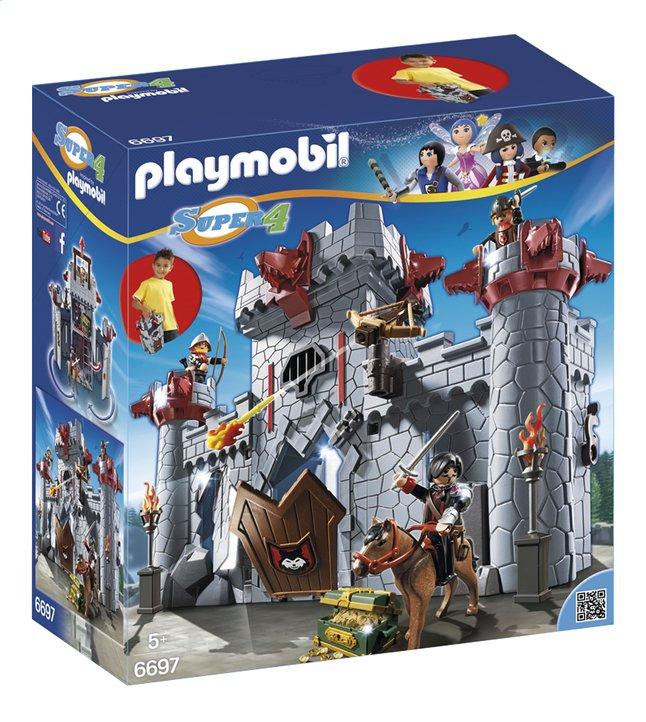 Afbeelding van Playmobil Super 4 6697 Meeneemburcht van de Zwarte Baron from DreamLand