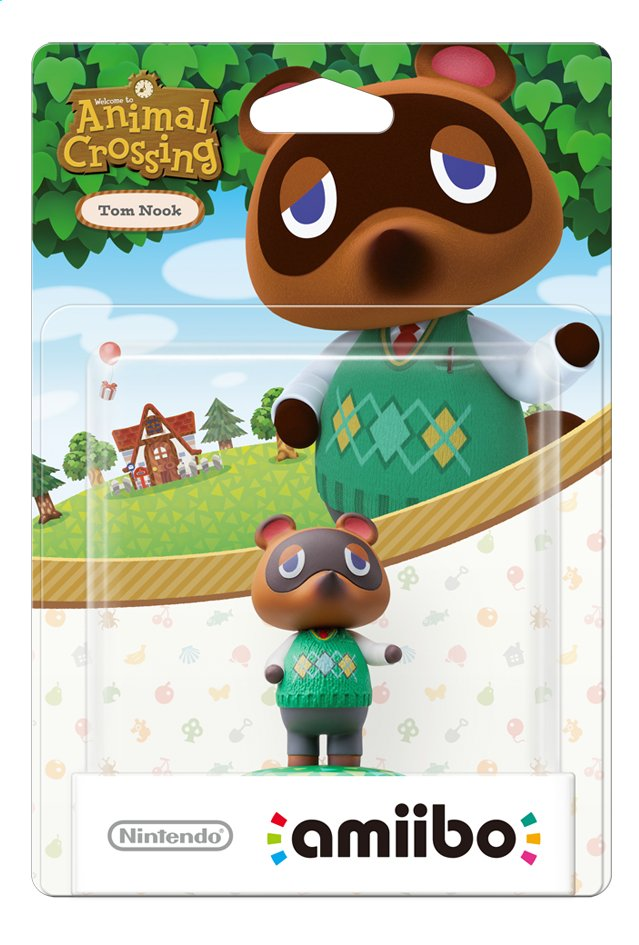 Afbeelding van Nintendo amiibo figuur Animal Crossing Collection Tom Nook from DreamLand