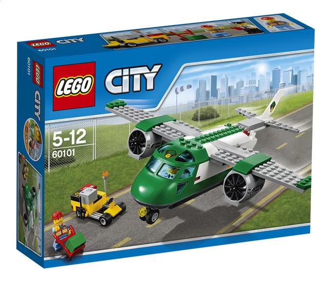 Afbeelding van LEGO City 60101 Vliegveld vrachtvliegtuig from DreamLand