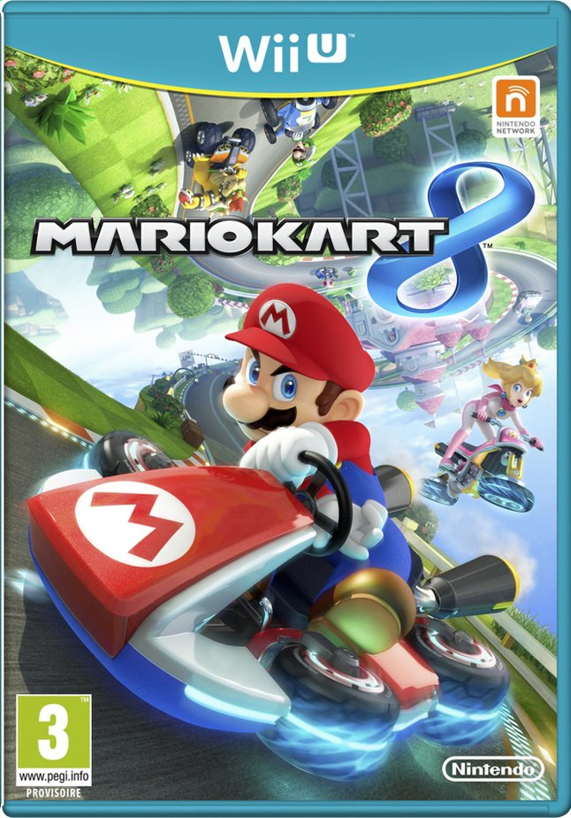 Afbeelding van Wii U Mario Kart 8 NL from DreamLand